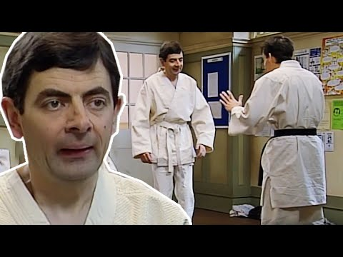 judo-bean-|-funny-clips-|-mr-bean-official