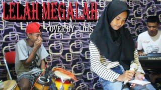 Gambar cover LELAH MENGALAH dangdut elelctone cover by ; Lilis [ versi latihan ] CONTESSA music.