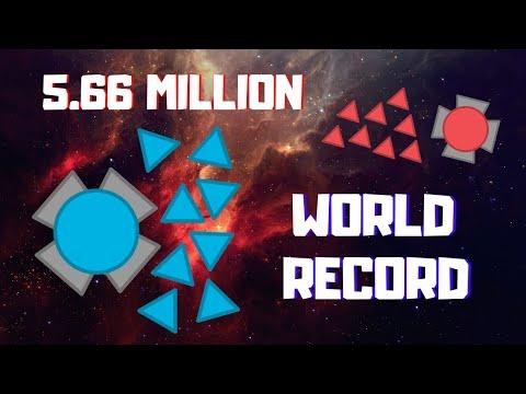 WORLD RECORD | 5.66 Million Overlord 2 TDM Diep Io
