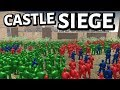 Toy Castle Siege ! 3rd ATTACK - Army Men OF War - Besieged