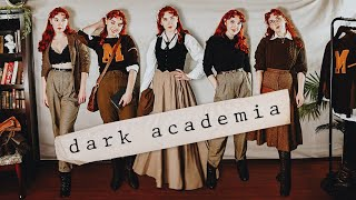 20 Dark Academia Outfits! *with a vintage twist*