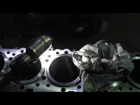 #10. Капитальный ремонт двигателя Caterpillar C15. Сборка.