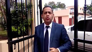 Incidente en Palacio  de Justicia en Ocoa. Amenazan abogado Elias González