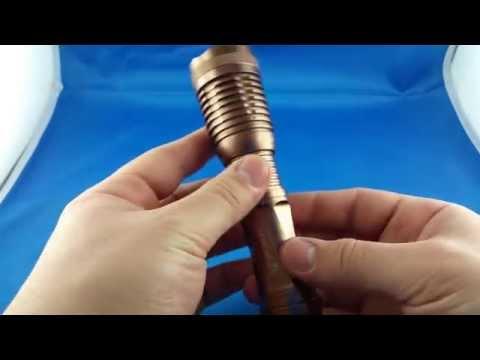UltraFire 12W 1800 Lumen CREE XM-L T6 LED Flashlight Torch from Aliexpress.com Unboxing