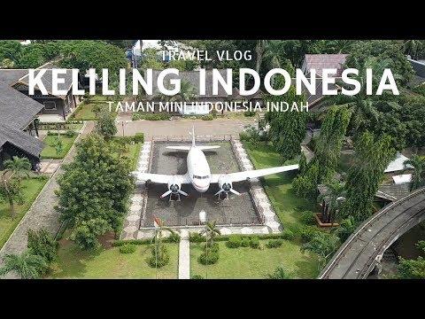 KELILING INDONESIA DALAM WAKTU 6 MENIT !!! Naik Kereta Gantung Taman Mini Indonesia Indah!!