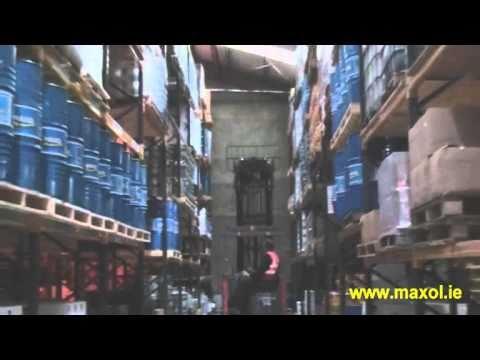 Maxol Lubricants Operations in Santry, Co.Dublin, Ireland