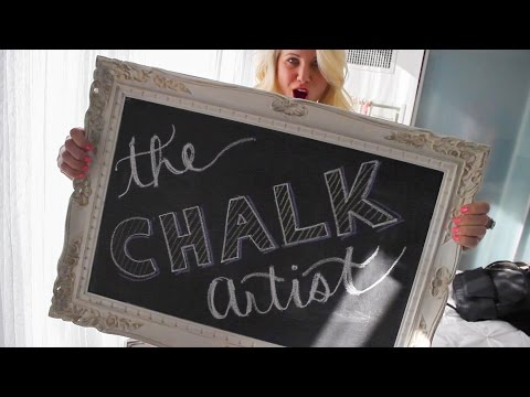 The Chalk Artist |  A Documentary about Elise Goodhoofd