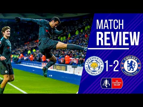 LEICESTER 1-2 CHELSEA FA CUP MATCH REVIEW || Spaniards rescue victory || World class KANTE