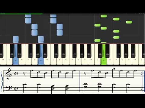 Piano - synthesia - Notes - Matt and Kim - Good Old Fashioned Nightmare