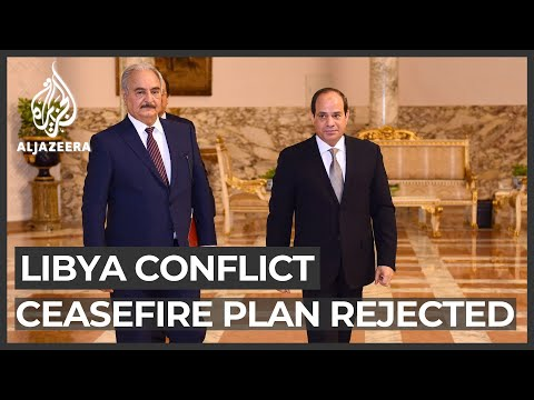 Haftar proposed Libya ceasefire, says Egypt's el-Sisi