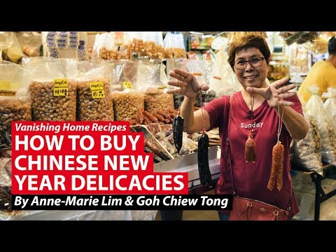 How To Buy Chinese New Year Delicacies | Vanishing Home Recipes | CNA Insider