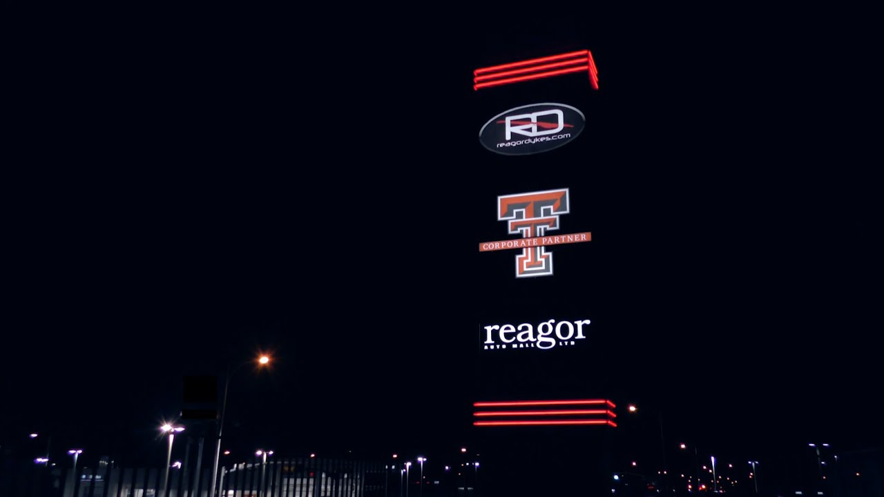 Reagor Auto Mall >> Reagor Auto Mall Sign Timelapse - YouTube