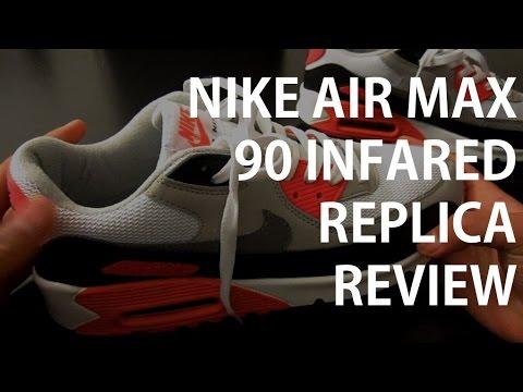Nike Air Max 90 Infared Replica Review