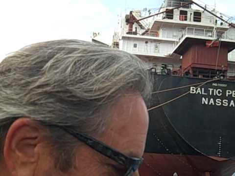 Geno TV, Unloading the Baltic Pearl Cargo Ship in Portsmouth, NH