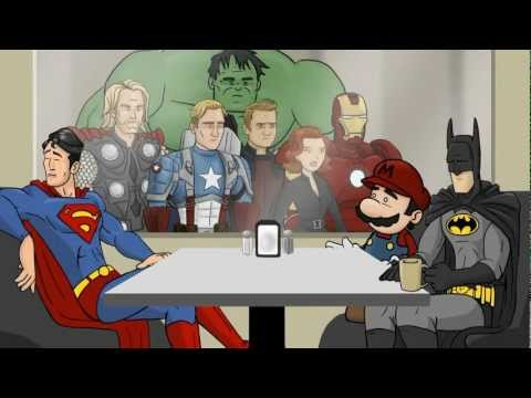 All Superhero Caf Clips - HISHE