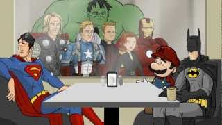 All Superhero Café Clips - HISHE