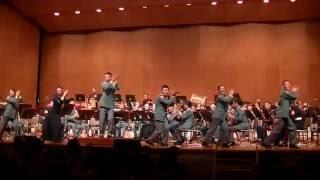 海兵隊と陸自合同演奏によるBEGIN「国道508号線」 【第21回日米ジョイントコンサート】