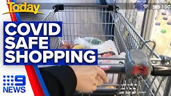 Coronavirus: Minimising risk while at the supermarket | Today Show Australia