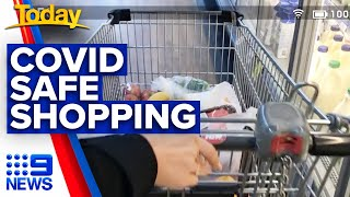 Coronavirus: Minimising risk while at the supermarket | Today Show Australia