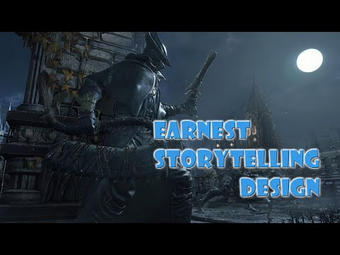 REMASTER Narrative Mechanics -  Earnest Storytelling Design in Bloodborne