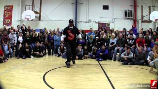 Big Chocolate vs. C-Bass | Popping Top 16 | Deuces Wild | www.bboyfed.com