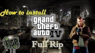 Repeat youtube video Gta IV Full Rip download