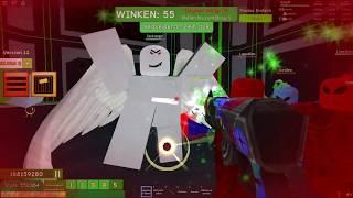 ROBLOX • Zombie Attack • Rainbow Blaster • Challenge • Wave 70