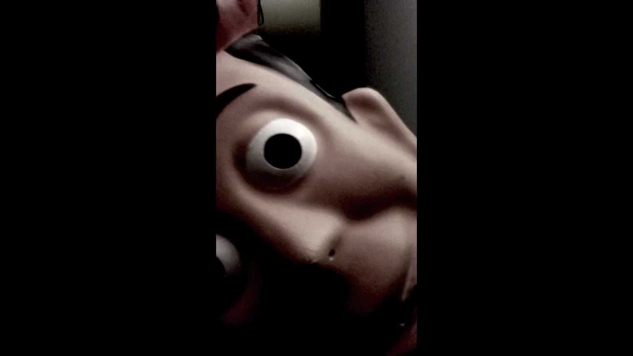 creepy woody 1st chapter l apparition youtube