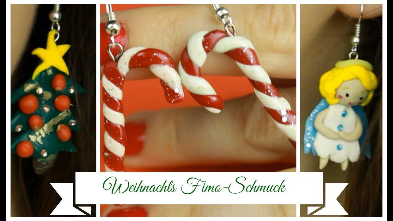 DIY Geschenkidee: Fimo Schmuck Zu Weihnachten