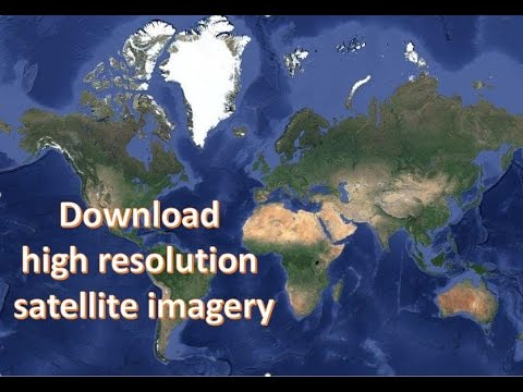 Download High Resolution Satellite Imagery Using SAS Planet YouTube - World satellite map 2017