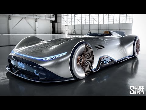 The Mercedes Vision EQ SIlver Arrow Has Arrived from the Fut