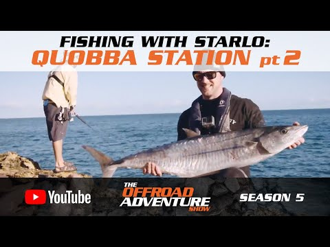 Fishing With Starlo: Land Based Game Fishing At Quobba Station (pt2)