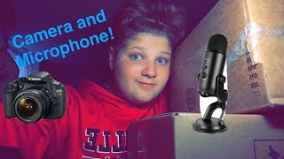 {ASMR} Camera and Microphone Unboxing