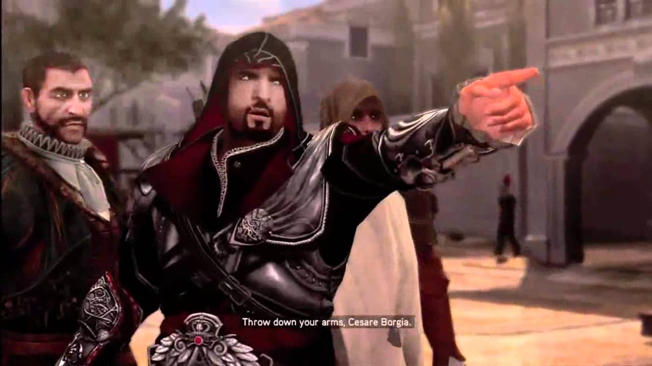 Assassin S Creed Brotherhood Cutscenes Part 8 Youtube