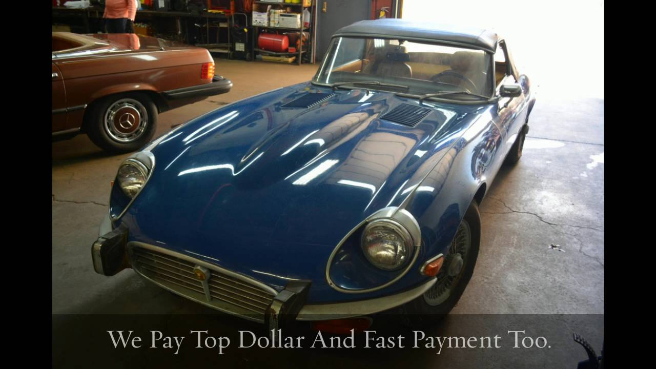 Buying Vintage 1974 Jaguar XKE Coupe Convertible Roadster