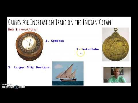 AP World History: Topic 2.3 - Indian Ocean Trade
