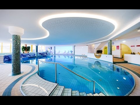 Modern Indoor Swimming Pool Design - YouTube