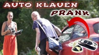 AUTO KLAUEN PRANK ! (mit Lockvogel) | PvP