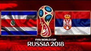 Costa Rica vs Sérvia - Goals & Highlights - World Cup Russia 2018