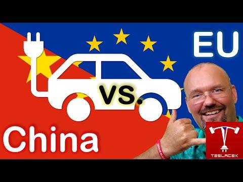#212 Čínský trh EV vs. EU a svět | EVTV | Teslacek