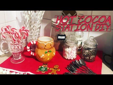 Hot cocoa station DIY