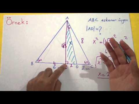 Eşkenar Üçgen Şenol Hoca Matematik