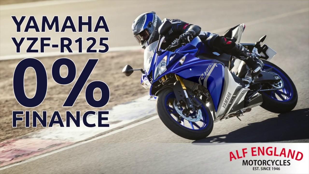 yamaha yzf-r125 - 0% apr finance! £99 deposit! - youtube