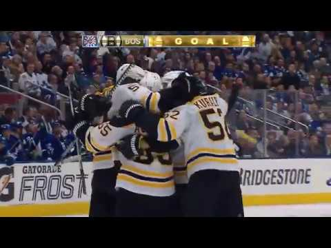 2017-18 Boston Bruins Playoffs Game 3 vs Leafs Recap - 04/16/2018