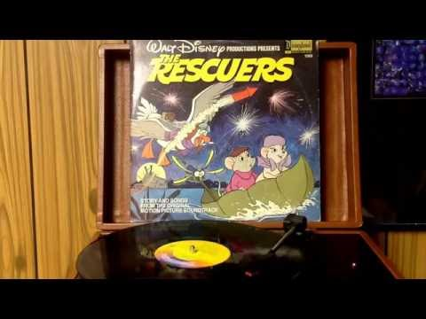 Walt Disney.....The Rescuers.....on vinyl record side 1