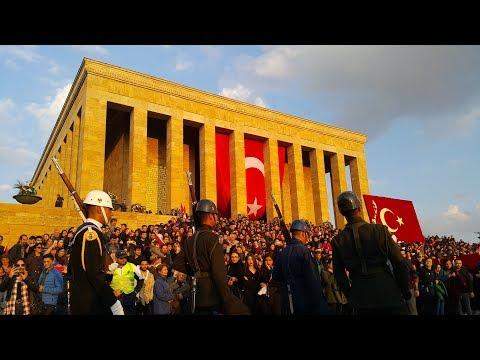 10 Kasım Anıtkabir Nöbet Değişimi