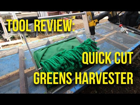 IN FOCUS: Quick Cut Greens Harvester Review