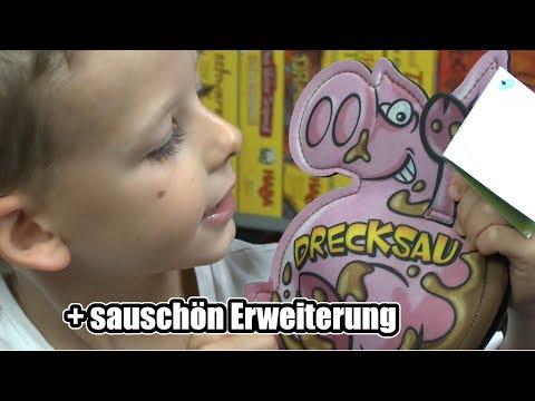 Drecksau + Sauschön Erweiterung (Kosmos) - Ab 7 Jahre .... Sau Witziges Kartenspiel