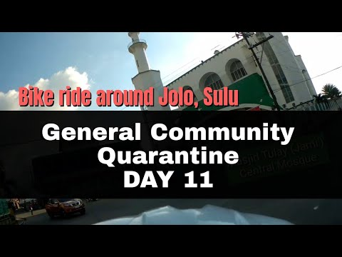 BikeVlog #2: Riding around downtown Jolo, Sulu |《 Day 11 of General Community Quarantine 》|Tausug101