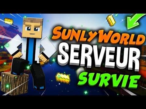 🚜 SunlyWorld - Présentation Serveur Minecraft Survie 1.14.4 ! (Minecraft Vanilla) 🗻